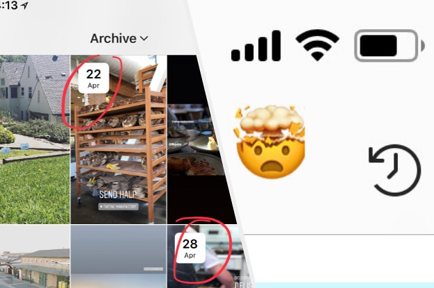 FYI: There's An Archive Of All Your Instagram Stories