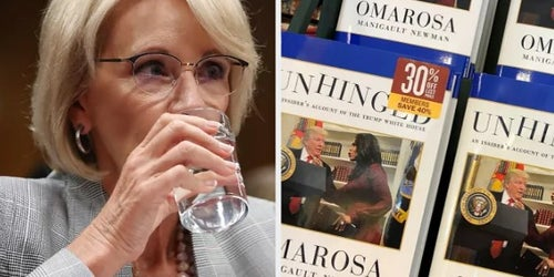 "Trump Called Betsy DeVos ""Ditzy"" And 7 Other Outrageous Details From Omarosa's New Book"