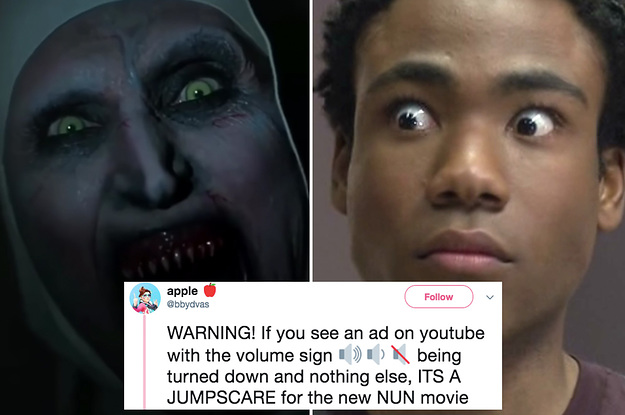 "YouTube Had To Pull An Ad For ""The Nun"" After It Scared The Absolute Heck Out Of People"