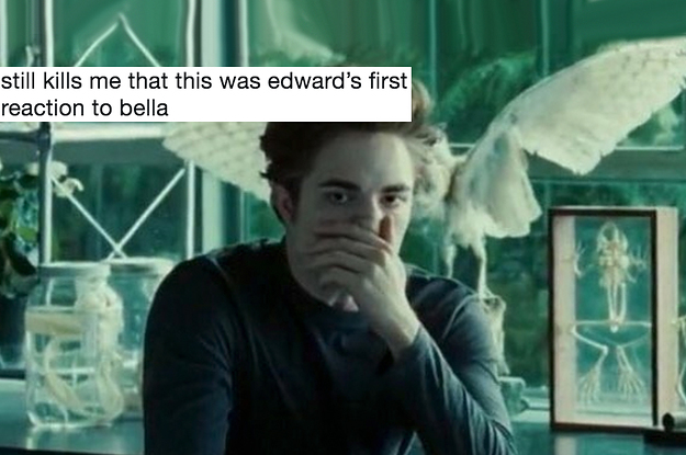 "23 Funny ""Twilight"" Tweets For Anyone Who Thought Edward And Bella's Relationship Was A Damn Mess"