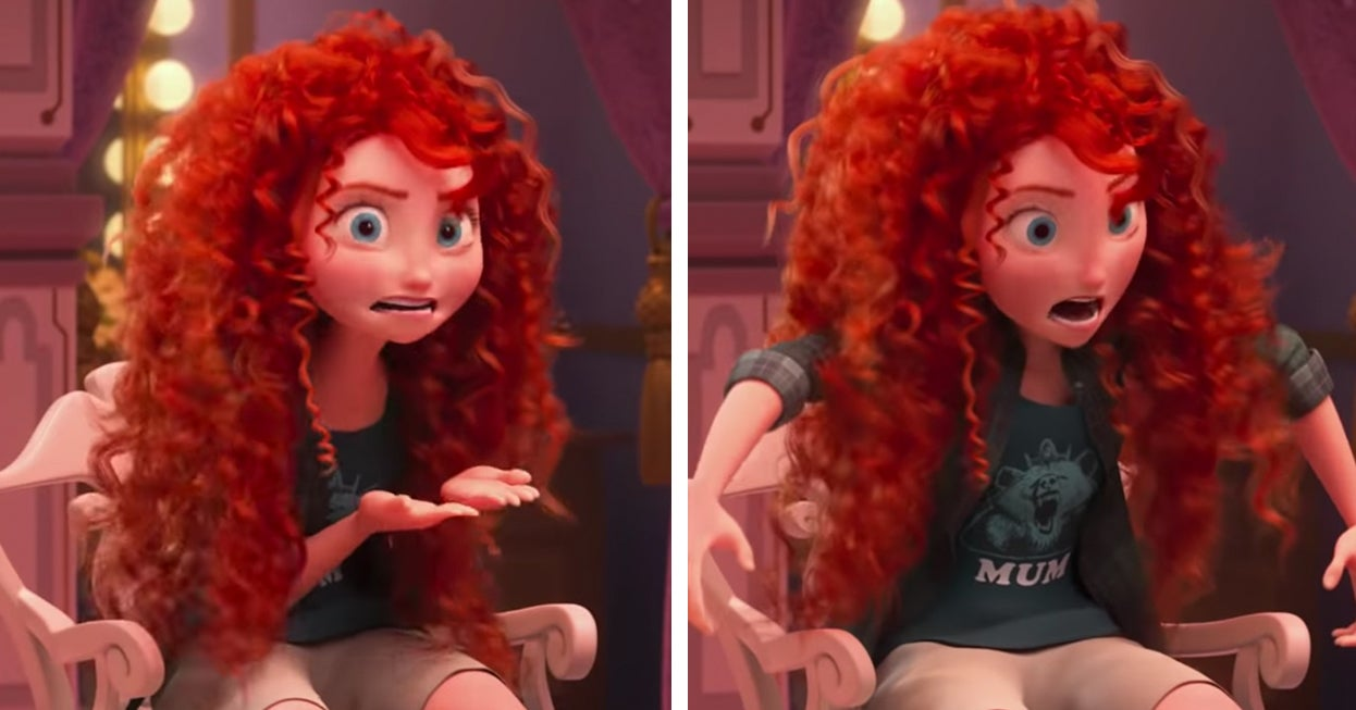 "Best Lines From Wreck It Ralph 2: There's A New Meme Where People Combine Merida From ""Brave"