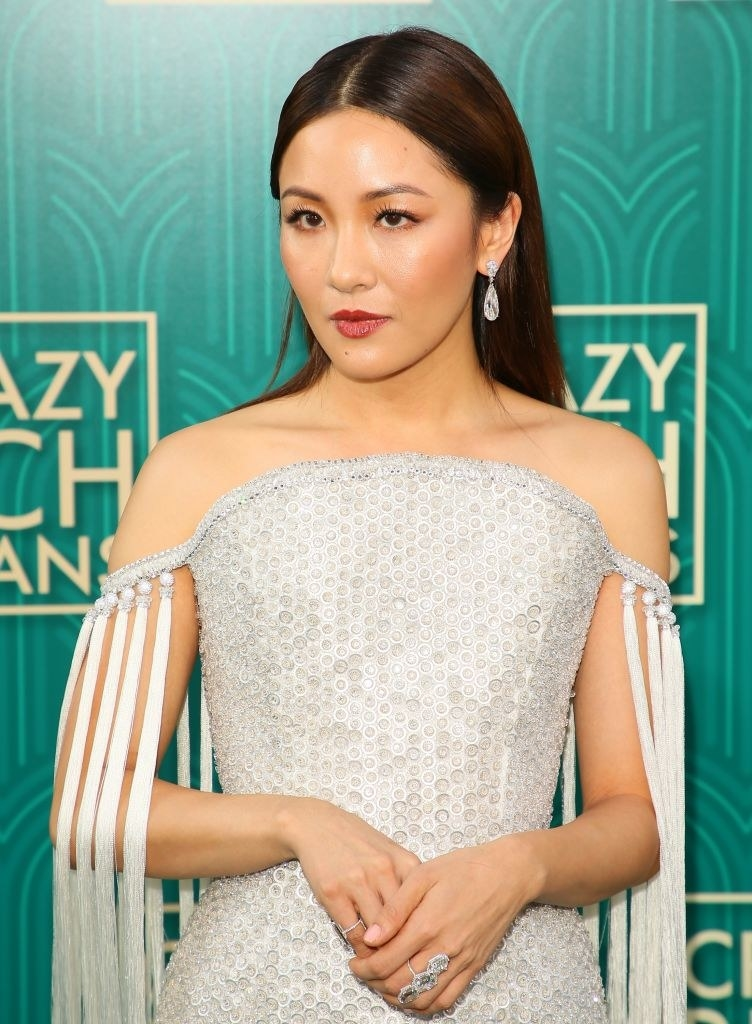 """Actress Michelle Yeoh attends the premiere of Warner Bros Pictures' """"Crazy Rich Asians"""" in Hollywood, California, on August 7, 2018. (Photo by JEAN-BAPTISTE LACROIX / AFP) (Photo credit should read JEAN-BAPTISTE LACROIX/AFP/Getty Images)"""