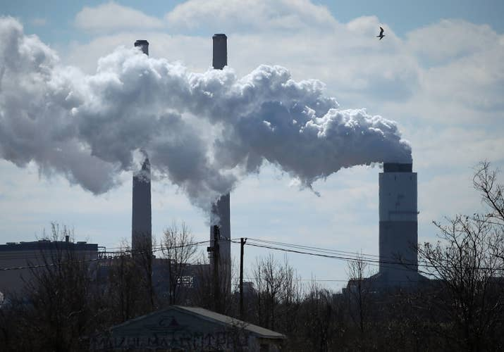 A coal-fired power plant in Maryland.