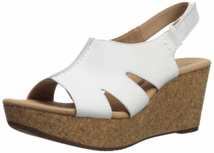 5a716a4f6e99 A pair of cork wedges with a marshmallowy cushion so you can wear them for  hours without thinking about your feet even once.