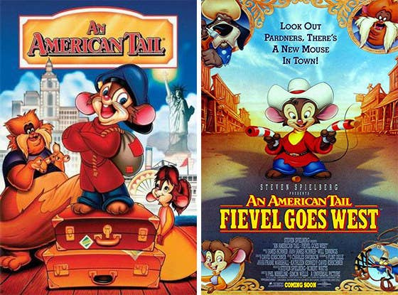 "If someone told me when I was a kid that these movies had underlying themes of Jewish immigrants moving to the US, I'd probably say, ""I don't know what that means, I'm five."""