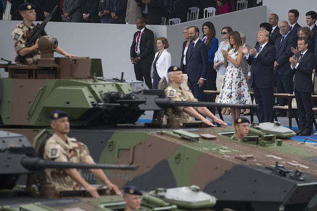 Trump's Long-Desired Military Parade In DC Has Been Postponed To At Least 2019