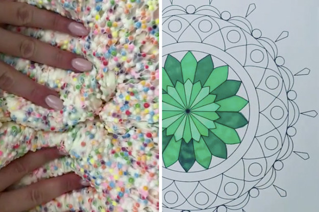 7 Strangely Soothing Crafts That'll Help You Calm Down