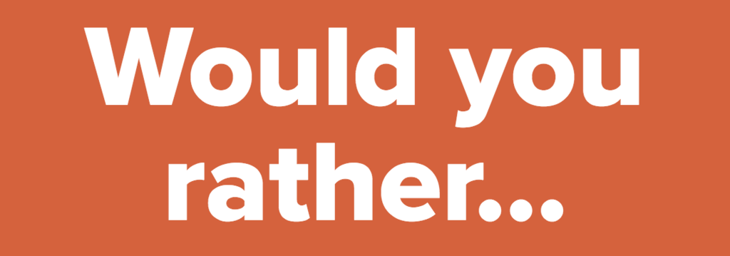 17 Would You Rather Questions About Sex That Are Damn