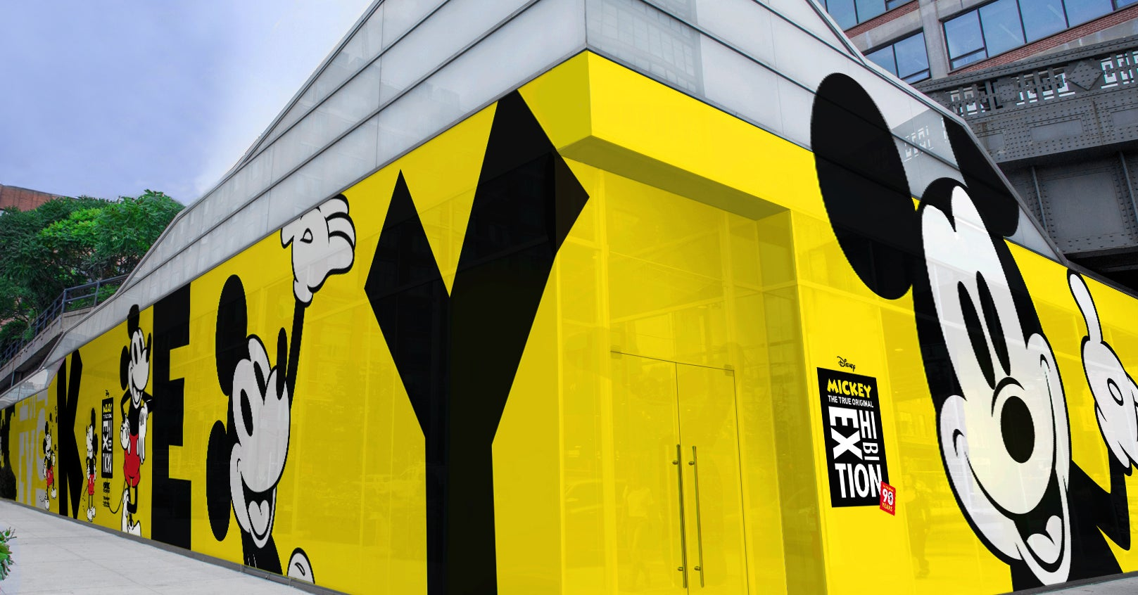 Attention Disney Fans: An Immersive Mickey Mouse Pop-Up Exhibit Is Coming To NYC
