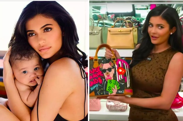 Kylie Jenner Said Stormi's First Bag Will Be A $27,000 Birkin And People Are Shook