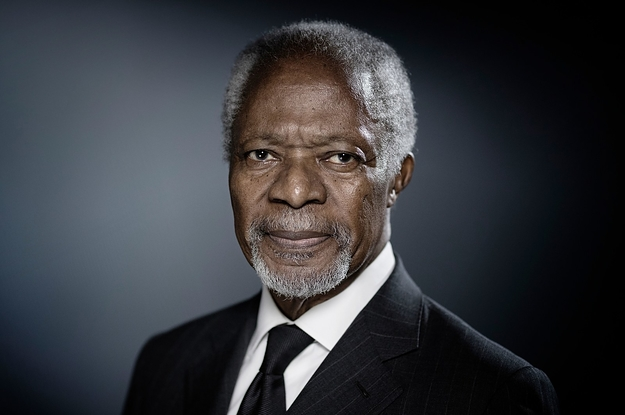 "World Leaders Pay Tribute To ""Proud Son Of Africa"" Kofi Annan"