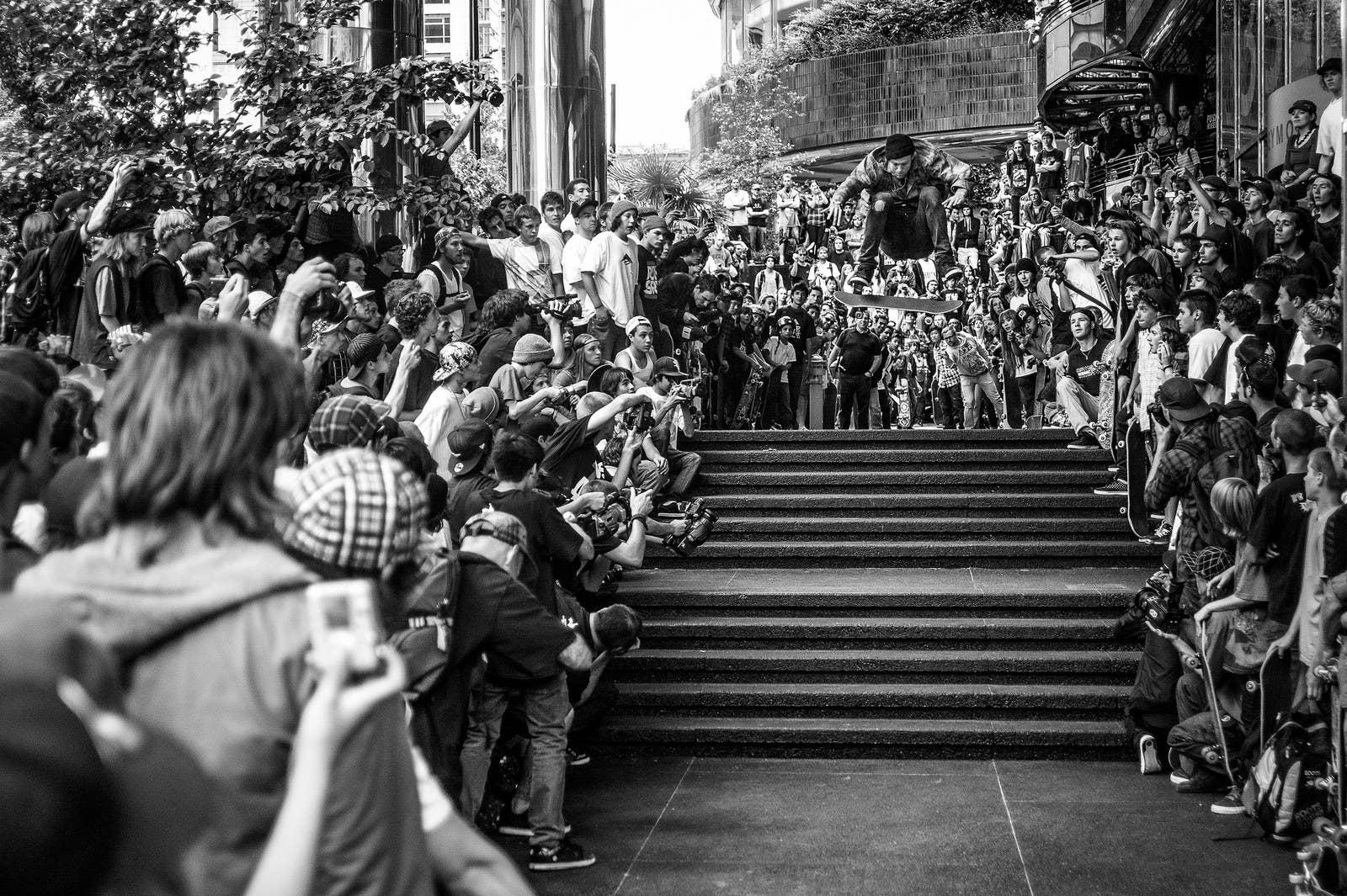 "Atiba Jefferson; ""Andrew Reynolds, Go Skate Day, Vancouver""; 2009"