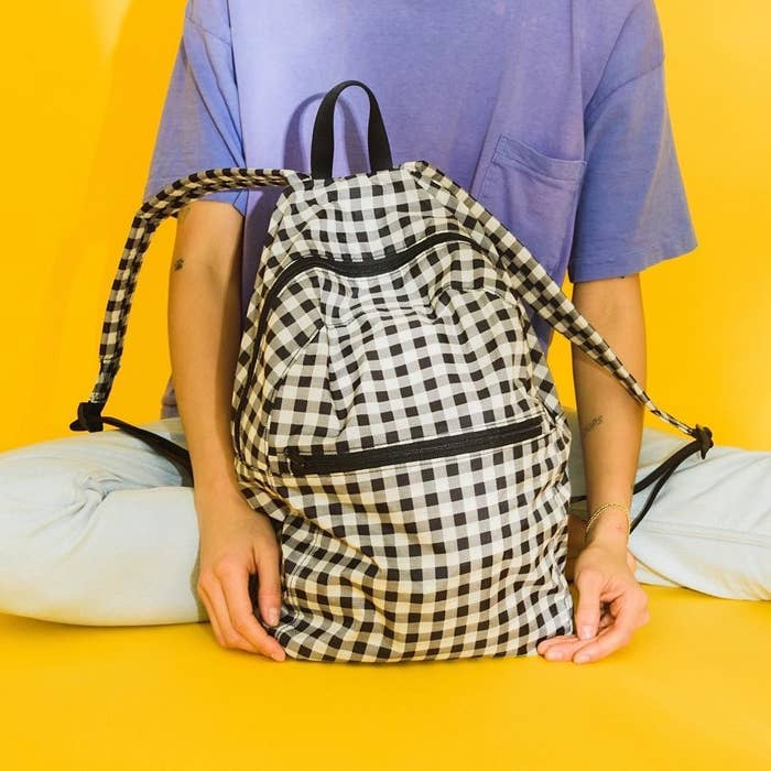 45d8fc5a59 BAGGU has all the ~casually chic~ backpacks you need to be the girl on  Instagram who turns everything into a like-able photo op.