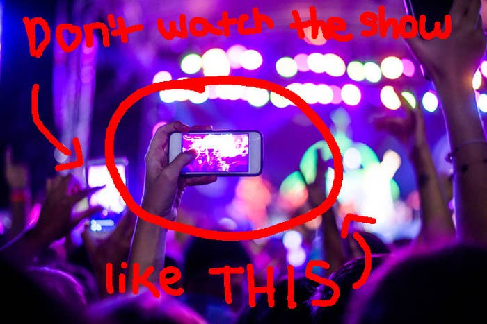 21 Tips And Tricks To Make The Most Out Of Going To A Concert