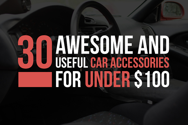 18 Awesomely Useful Car Accessories For Under $100