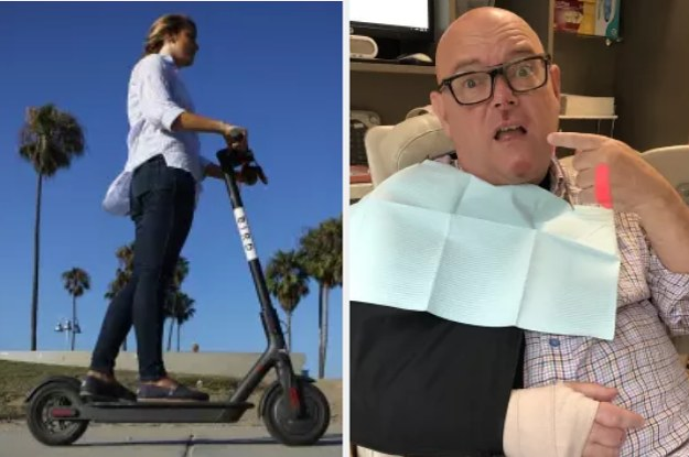 Broken Bones And Missing Teeth: Scooter Injuries Are Becoming Common