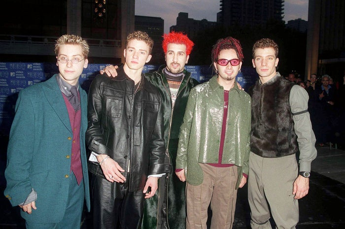 NSYNC on Sept. 9, 1999, in New York City.