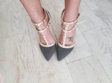 6c9513ac3adb3 32 Pairs Of Cute Heels That Are Surprisingly Comfortable