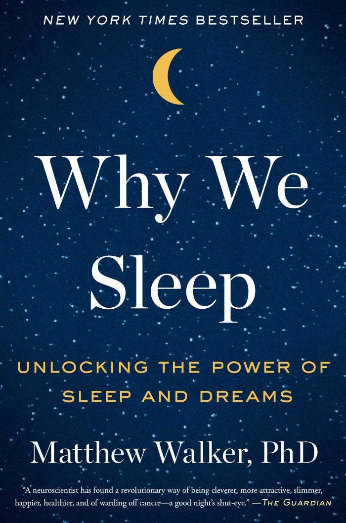"""Promising review: """"I love this book! As a lifelong poor sleeper, I've read dozens of books that supposedly held the answer to solving my sleep problems and none have helped me, until now. The author not only gives you lots of ideas on how to get a better night's sleep, he tells you why it's so important to get in your nightly eight hours. Who knew there were so many areas of life impacted by sleep, particularly the lack of it! At the end of the book, he lists a number of ideas you can put into use immediately. Thanks to this book, I've seen a great improvement in my quality and amount of sleep, so I feel very comfortable recommending it."""" —GW1947Get it from Amazon for $13.60, Barnes & Noble for $14.55, or a local bookseller through Indiebound."""