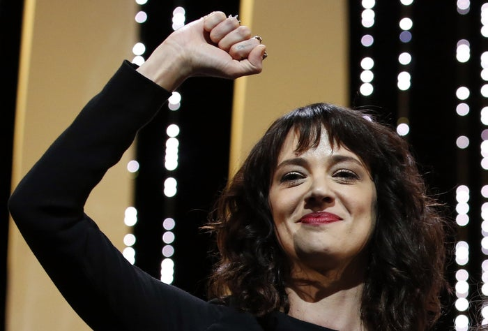Asia Argento at Cannes in 2018.