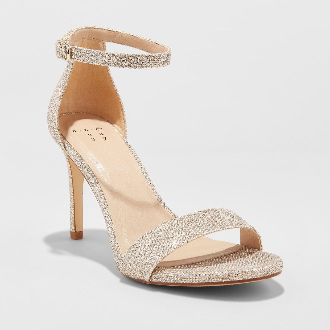 target glitter heels