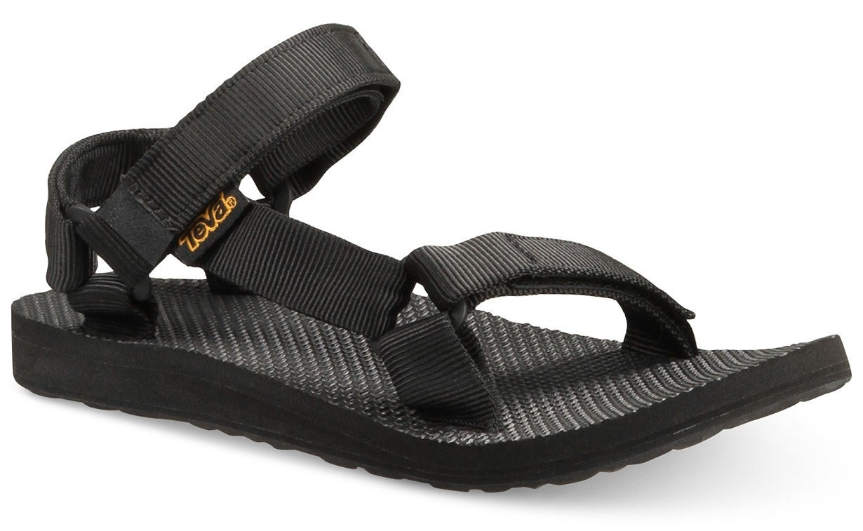 """I've been wearing these all summer, smashing these NYC streets, and I can't believe I ever spent a summer without Tevas. The best sandal brand, fight me.Promising review: """"I bought these shoes after wearing a pair of knockoff Chacos (mock-os, if you will) and the difference in fit and comfort was outstanding. I was planning on buying other sandals, but was convinced by a booth at Pitchfork Music Festival to consider Tevas and, boy, am I glad I did. These shoes have saved my life on a few occasions, because of their tread, solid fit, and ability to keep my feet cool. If I wasn't a broke college student, I would definitely buy multiple pairs of these."""" —hella helenPrice: $50 (available in sizes 5-11 and three colors)"""
