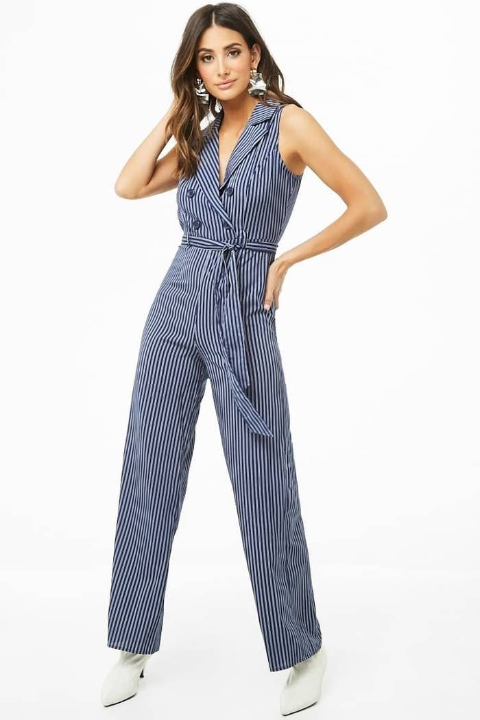 9aa38593037cf 26. A double-breasted pinstripe jumpsuit to let everyone know who wears the  pants around here (spoiler alert: it's you).
