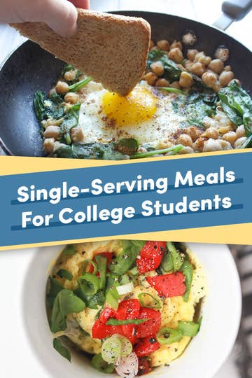 21 Single Serving Meals You Can Make In A College Kitchen
