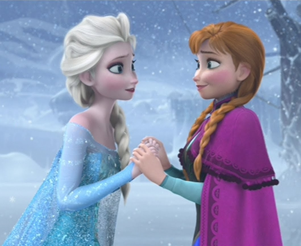 "Anna and Elsa from ""Frozen"""