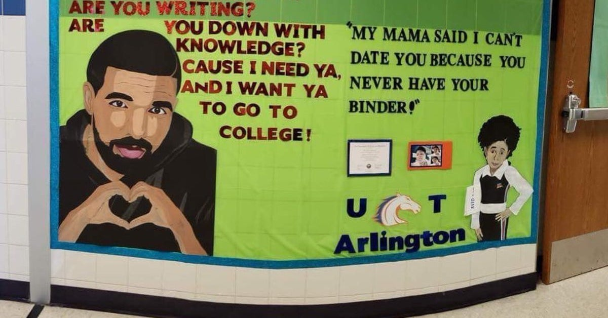 These Drake Themed School Decorations Got Me In My Feelings