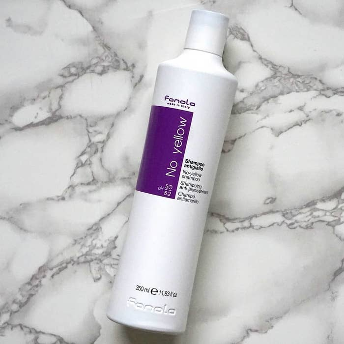 If You Color Your Hair Blonde You Need This Purple Shampoo