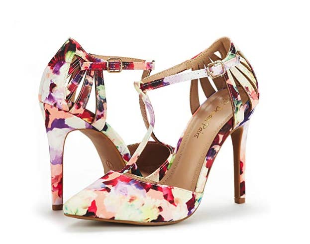 9554df69b22 Floral pumps to keep your feet in full ~bloom~ all day long