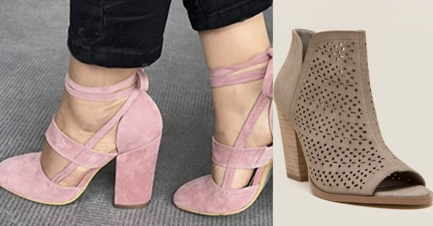 bde8ef1f6edd 32 Pairs Of Cute Heels That Are Surprisingly Comfortable