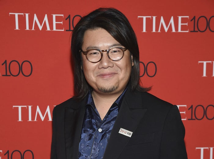 Novelist Kevin Kwan attends the Time 100 Gala celebrating the 100 most influential people in the world at Frederick P. Rose Hall, Jazz at Lincoln Center on Tuesday, April 24, 2018, in New York.