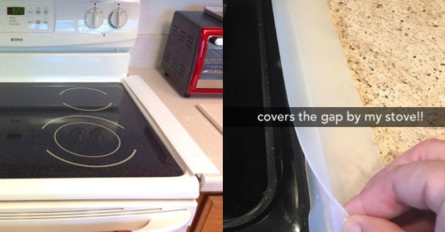 These 10 Gap Covers Solve The Most Annoying Problem With Your Stove