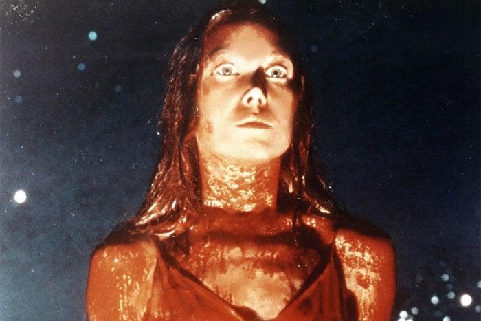 Spacek as Carrie White in Carrie.