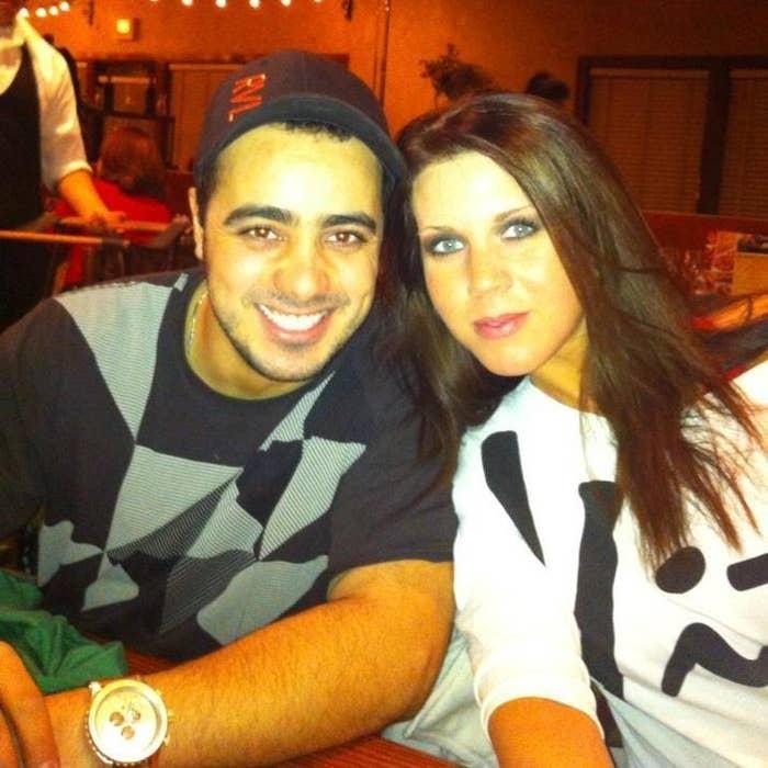 Moussa Elhassani and Samantha Elhassani in 2013.