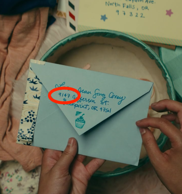 """Letter Box Cover B Q: 17 Little Details In """"To All The Boys I've Loved Before"""
