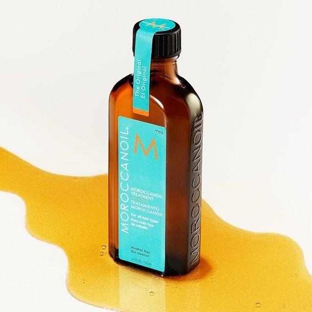 glass bottle of brown oil