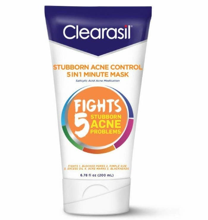 8ae1b2adc7fe Fight stubborn breakouts with a powerful Clearasil one-minute mask  specifically designed to battle the toughest of pimples. If you get  all-over breakouts, ...