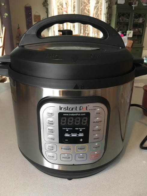 Seriously, if your answer was gonna be an Instant Pot anyway, please do tell us why you love it! It's $99.95 on Amazon. (Also want to hear about your *other* great $100 kitchen finds!!)