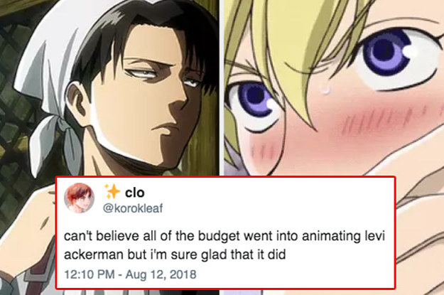 19 Thirsty AF Anime Tweets That Prove Crushing On Cartoons Is Totally Normal