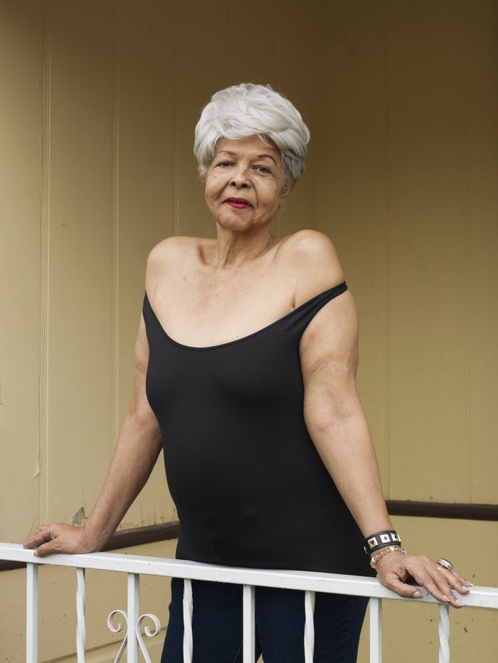 "Duchess Milan, 69, Los Angeles""My mother said when you die, you stand there before the light, and you say, 'Was I worthy of myself to know that I have liked me?' Okay? I like me. Okay? And I will tell the whole chorus, honey, 'I like me.' I don't hurt anybody, I don't do anybody wrong, you know. I've dealt with everything I can, as much as I can. So just find that inside yourself and take time with that person. Faults, flaws, wishes, all of it, it doesn't matter. We're not going to get it all. None of us gets it all. Okay? But what we do have, we can polish. We can polish it, honey, till it blinds them."""