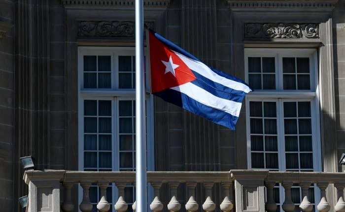 Cuban Embassy in Washington.