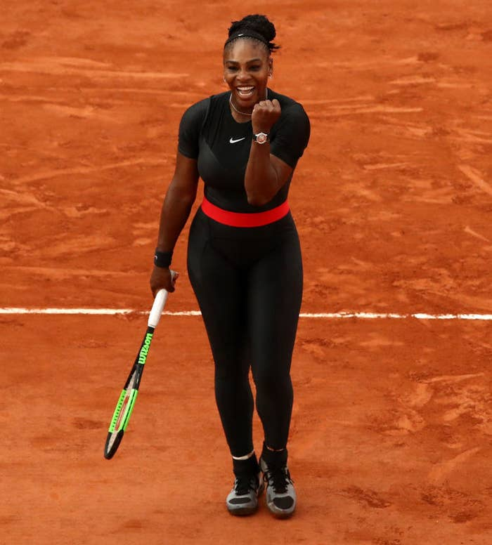 """Recently, the president of the French Tennis Association announced that the French Open will be enforcing a dress code from now on. He specifically singled out Williams' bodysuit, explaining, """"I think that sometimes we've gone too far,"""" and that it """"will no longer be accepted,"""" according to the Associated Press."""