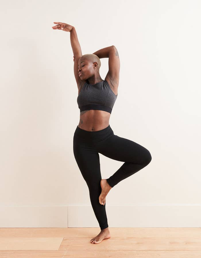 93d5d206b0b45 Aerie Chill leggings have a wide waistband that'll stretch with you,  especially on days when you wanna veg out and lounge on the couch with  friends.
