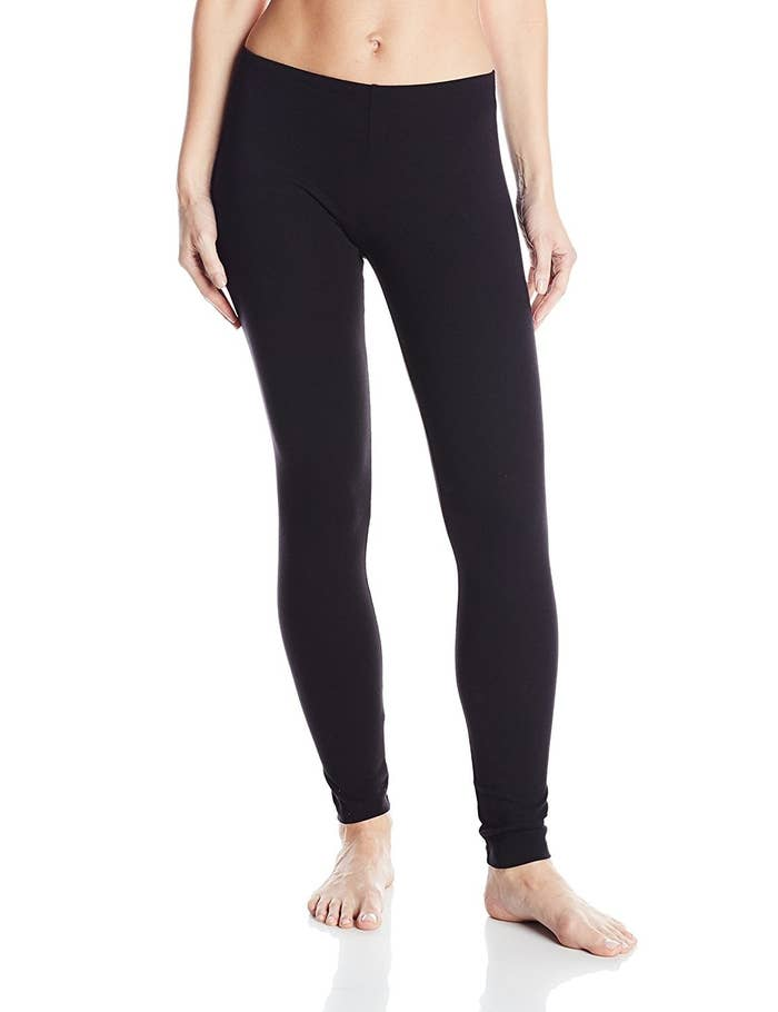 96b99167a170a No Nonsense Cotton Shaping Leggings have a special smart temperature fabric  that makes them adjust to your body — and they'll keep their shape  throughout ...