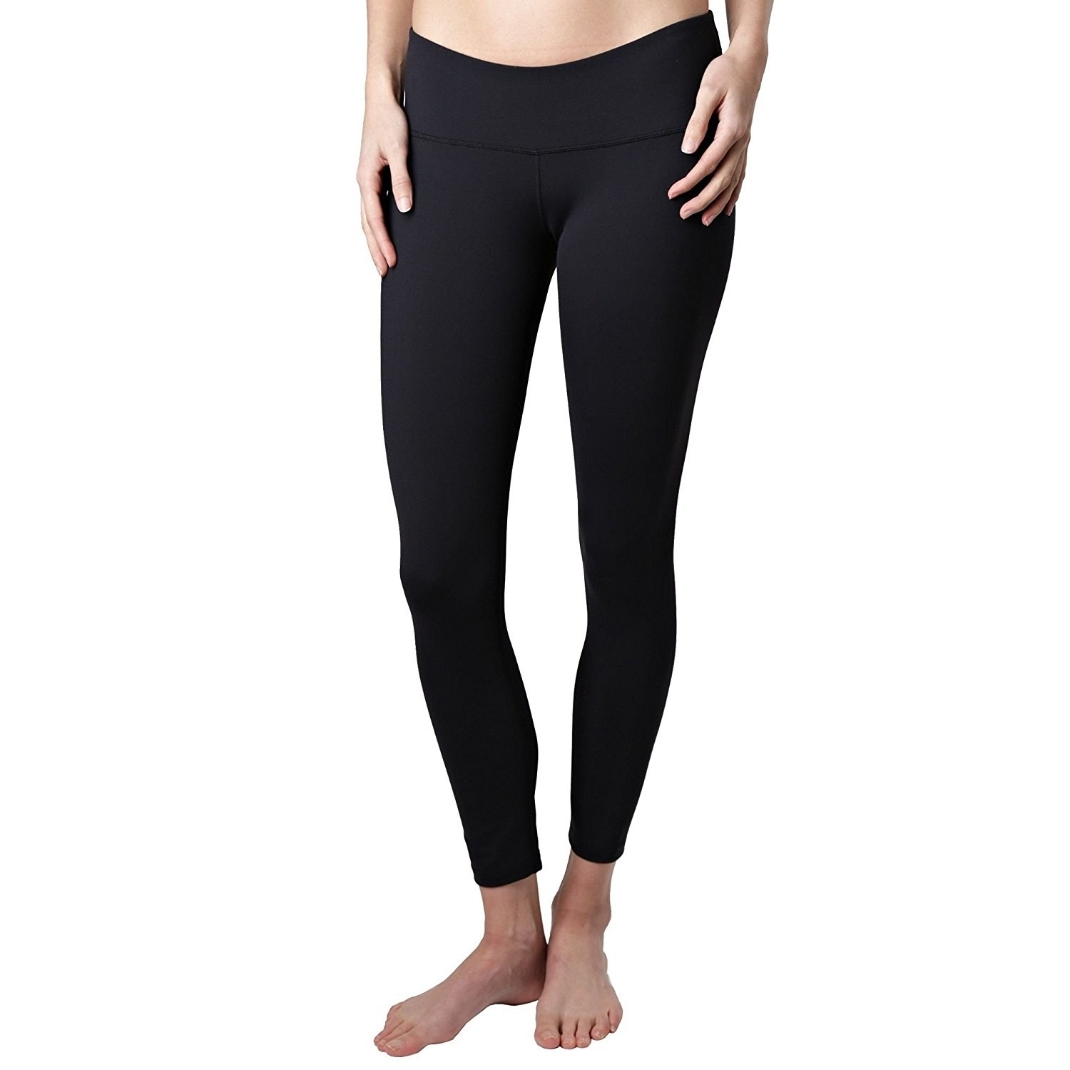 7300ba7d087b2 Tuff Athletics Yoga Leggings are mid-rise and have a massive amount of  stretch so you can be as comfy as possible while running errands for the  day.