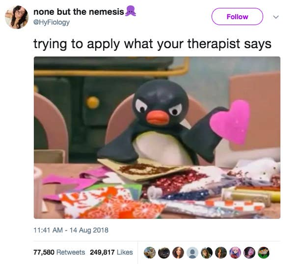 21 Tweets About Therapy That Are Waaaaay Too Real