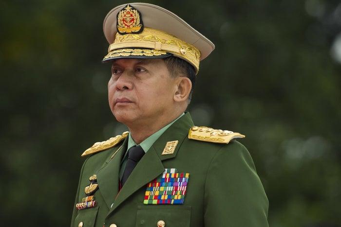 Senior Gen. Min Aung Hlaing